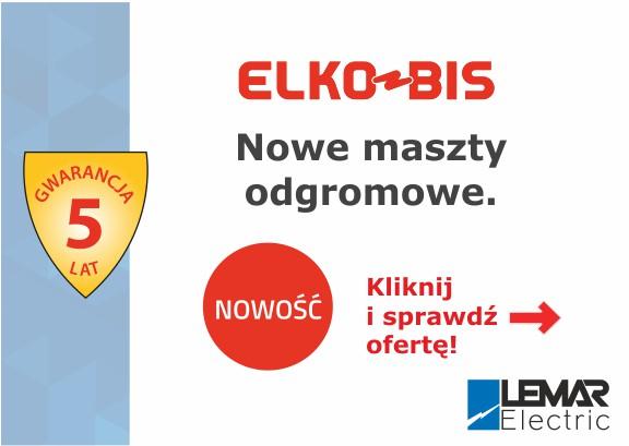 Poznaj ofertę na maszty odgromowe ELKOBIS