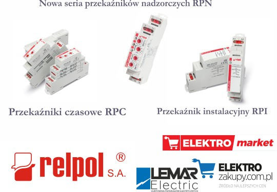 Przekaźniki RPI Relpol